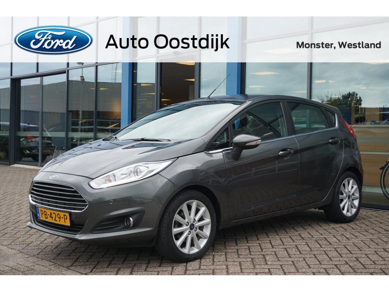 Ford Fiesta 1.0 ecoboost titanium 5-drs navi climate voorruitverwarming parkeersensoren v+s isofix
