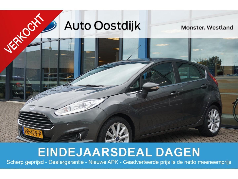 Ford Fiesta 1.0 ecoboost titanium van €14.250,- voor €13.750,- 5-drs navi climate voorruitverwarming parkeersensoren v+a isofix