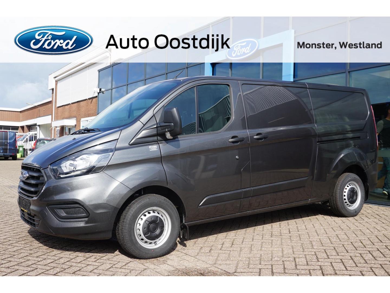 Ford Transit custom 300 2.0 tdci l2h1 ambiente airco voorruitverwarming trekhaak bluetooth cruise control dubbele schuifdeur
