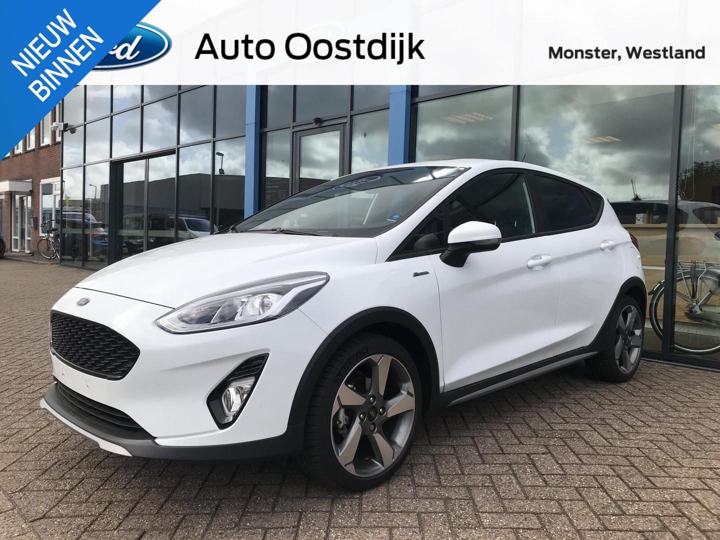 Ford Fiesta 1.0 ecoboost 140pk active plus navi climate cruise control halfleder privacy glass