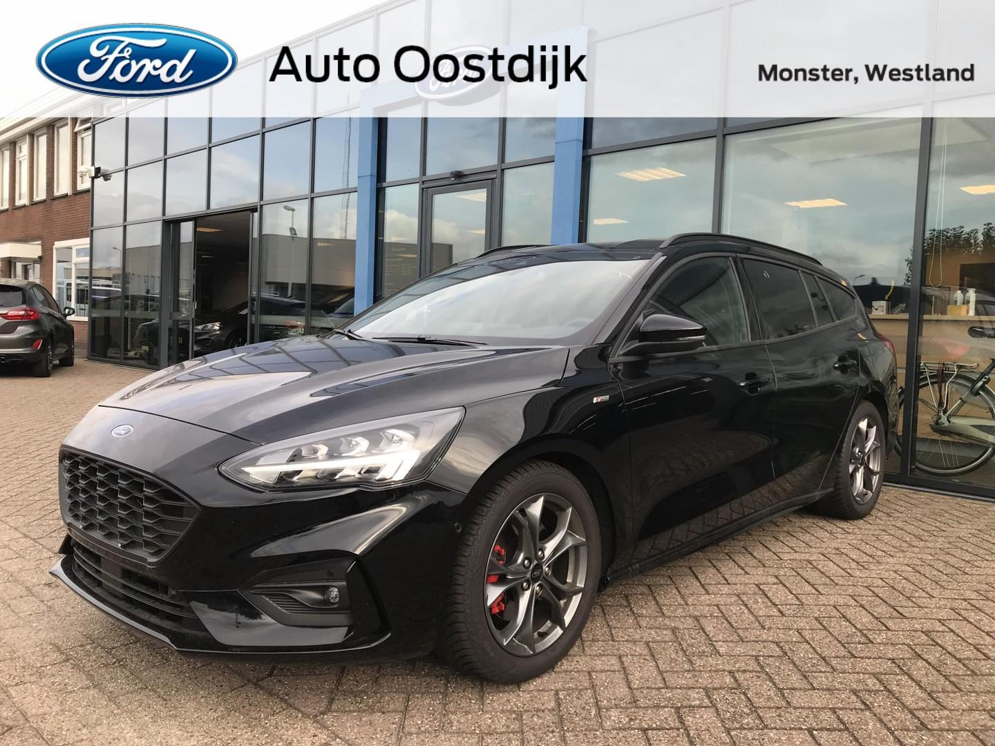 Ford Focus Wagon 1.5 ecoboost 150pk st line business compleet! navi camera b & o led koplampen blis privacy glass dab+