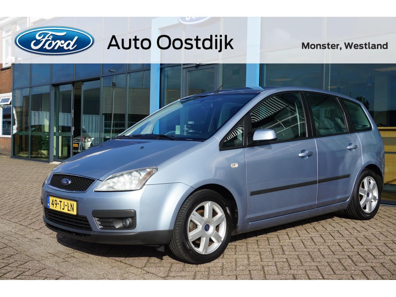Ford Focus c-max 1.6-16v futura airco voorruitverwarming trekhaak parkeersensoren *dealer onderhouden*