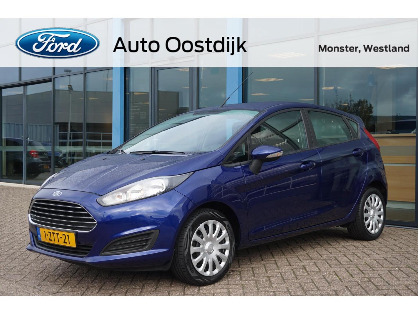 Ford Fiesta 1.0 style 5-drs navigatie airco bluetooth isofix