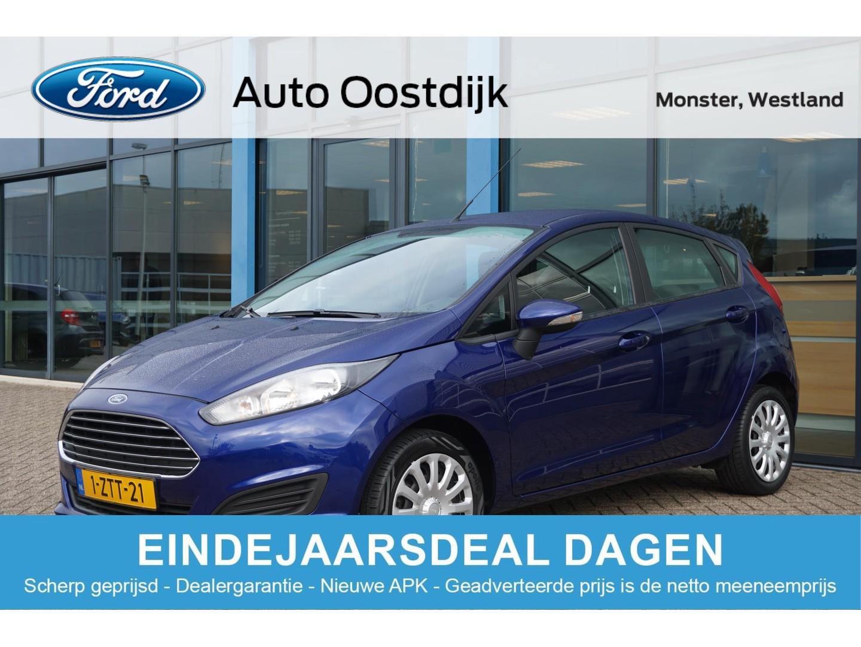 Ford Fiesta 1.0 style van €9.850,- voor €9.300,-  65pk 5-deurs navigatie airco bluetooth isofix