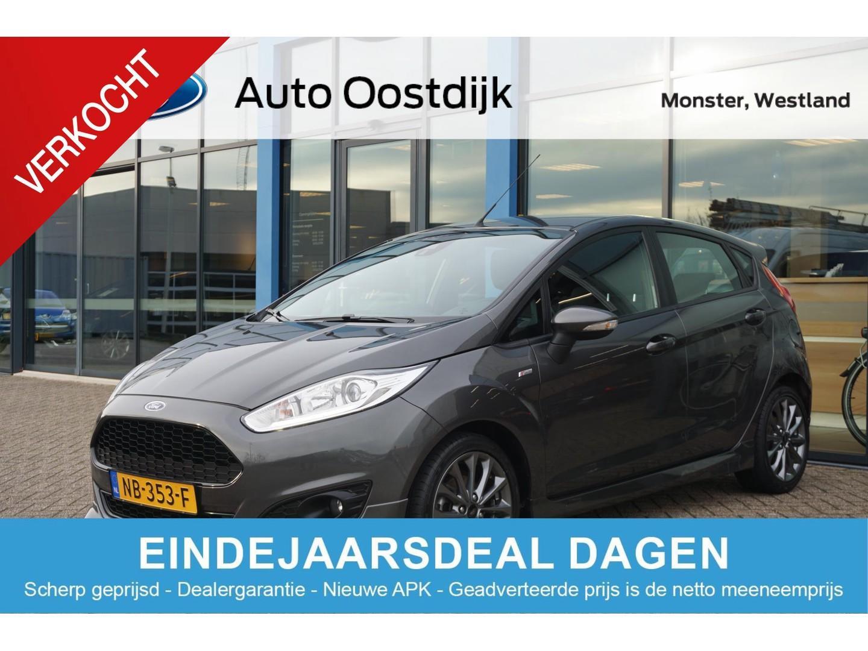 Ford Fiesta 1.0 ecoboost st line van €13.950,- voor €13.440,- 100pk 5-deurs navi climate voorruitverwarming cruise control