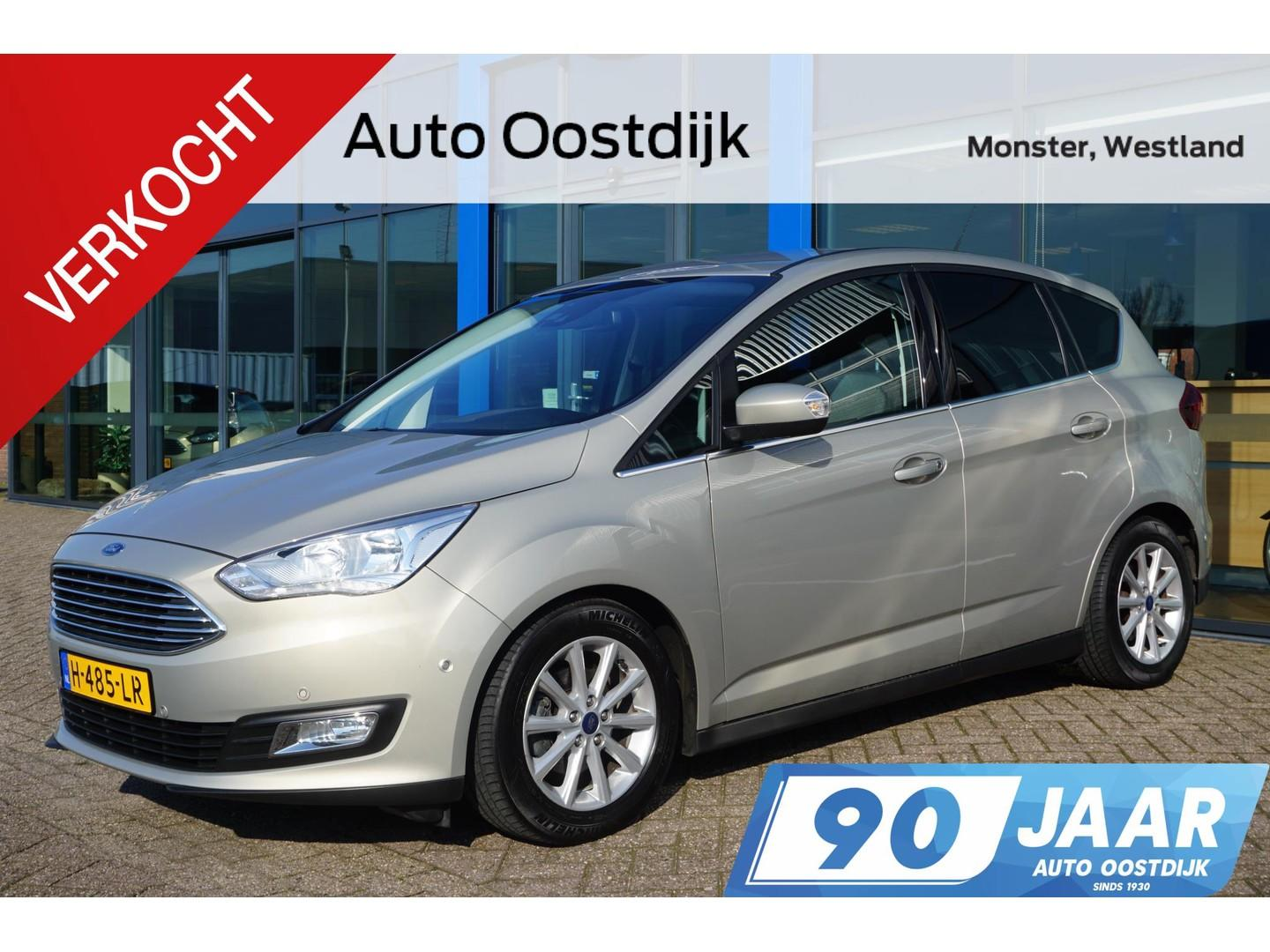 Ford C-max 1.0 ecoboost 125pk titanium navi climate winterpack privacy glass