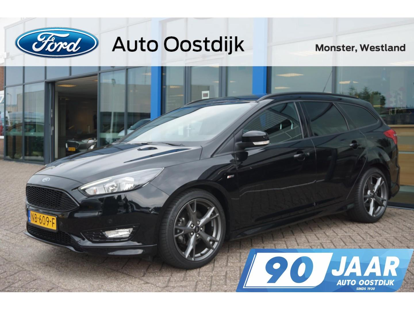 Ford Focus Wagon 1.0 st-line 125pk climate navi stoelverwarming 18inch parkeersensoren privacy glass