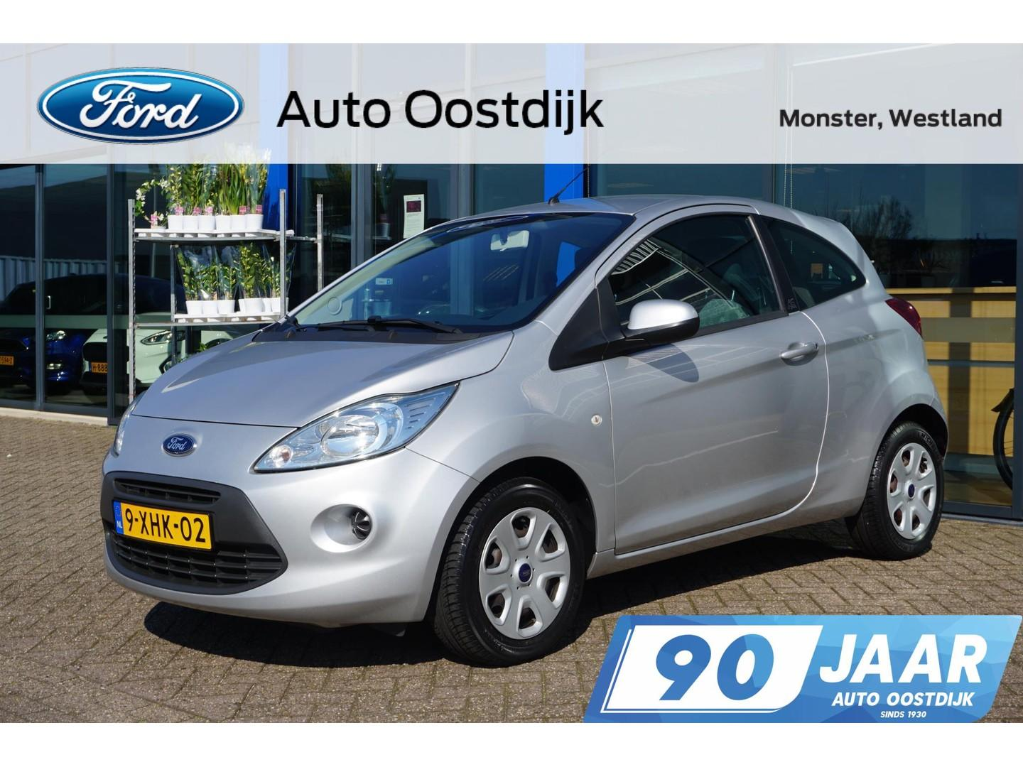 Ford Ka 1.2 style start/stop 69pk airco bluetooth-telefoonkoppeling elk.ramen *lage km-stand*