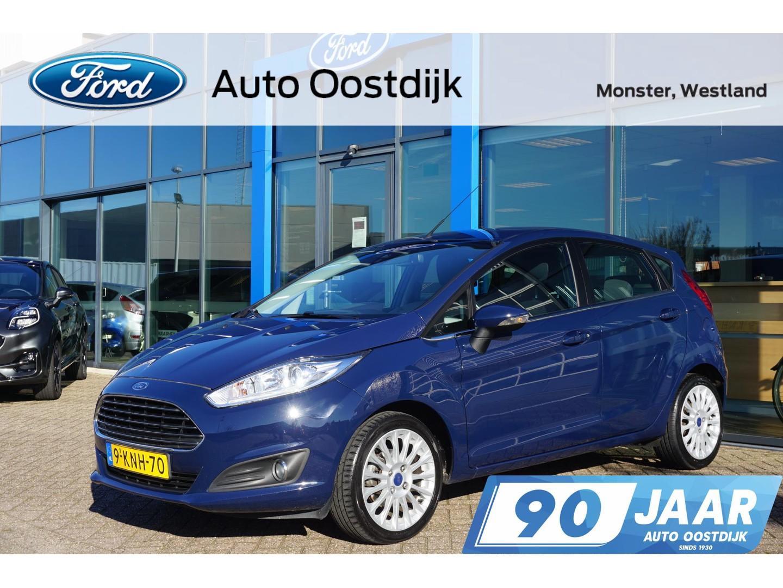Ford Fiesta 1.0 ecoboost titanium 100pk navi x-pack cruise control parkeersensoren climate control