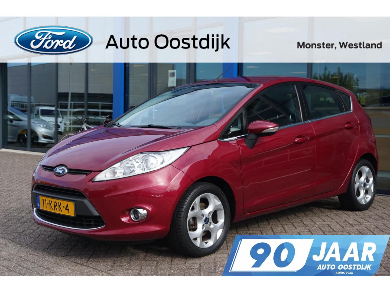 Ford Fiesta 1.6 titanium 120pk climate cruise control bluetooth parkeersensoren *dealer onderhouden*