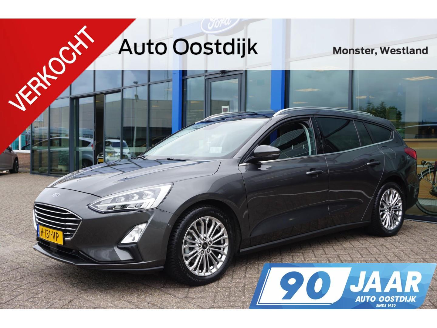 Ford Focus Wagon 1.5 ecoboost 150pk titanium wagon navi camera panodak head-up display winterpack *actie prijs*
