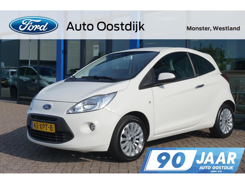 Ford Ka 1.2 titanium x start/stop airco mistlichten lichtmetaal-velgen aux *dealer onderhouden*