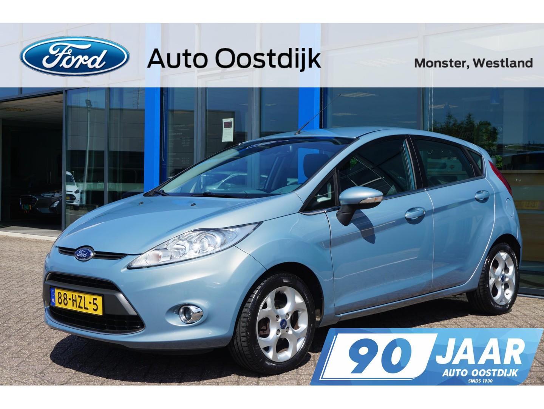 Ford Fiesta 1.25 titanium 82pk 5-deurs climate voorruitverwarming trekhaak cruise control *dealer onderhouden*