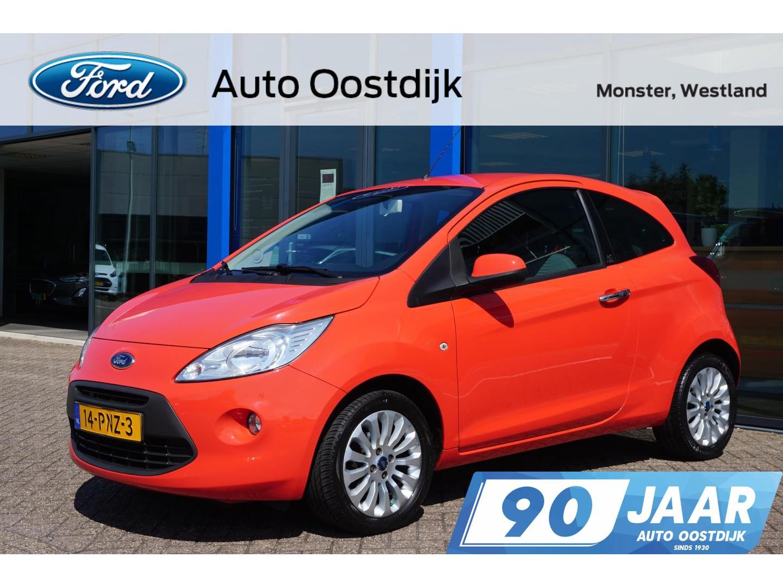 Ford Ka 1.2 titanium x start/stop 69pk airco mistlampen lichtmetalen velgen *1e eigenaar*
