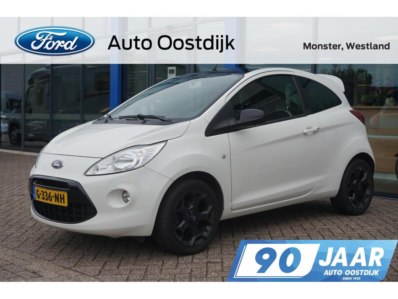 Ford Ka 1.2 titanium x start/stop airco stoelverwarming spoiler bluetooth voorruitverwarming *dealer onderhouden*
