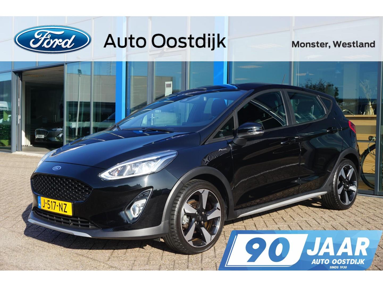 Ford Fiesta 1.0 ecoboost active 85pk navigatie climate control parkeersensoren cruise control