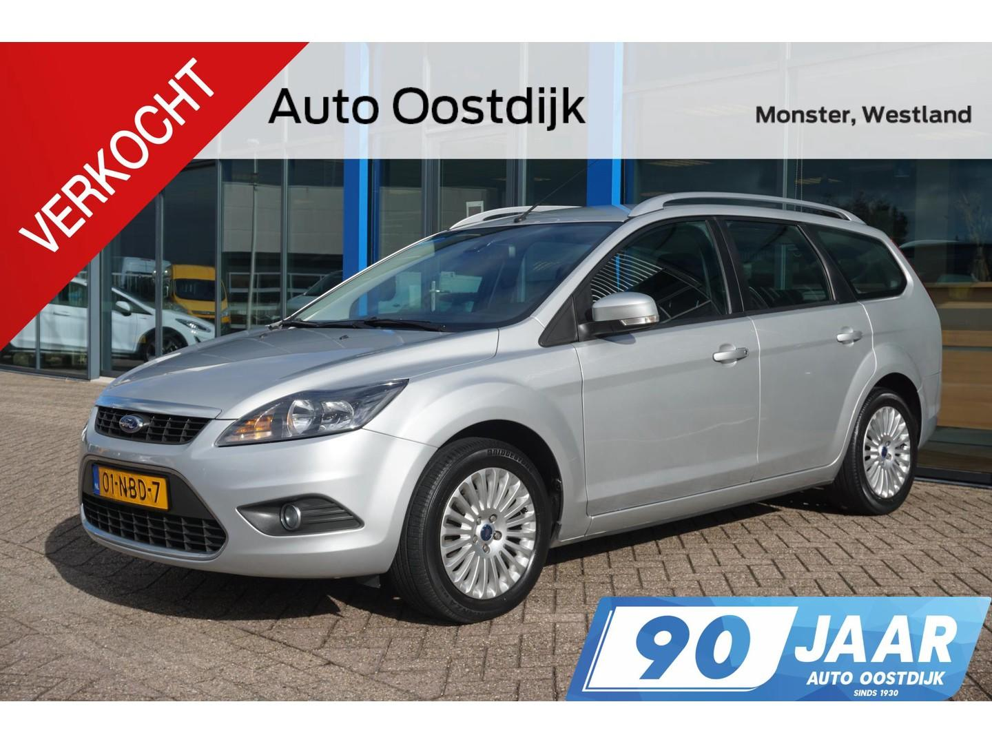 Ford Focus Wagon 1.8 limited 125pk climate trekhaak navi voorruitverwarming *lage km-stand*