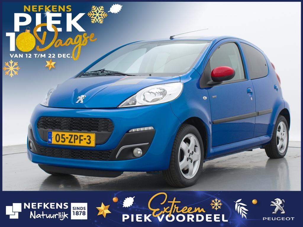 Peugeot 107 1.0 68pk sportium * airco * lichtmetalen velgen * donker getint glas *