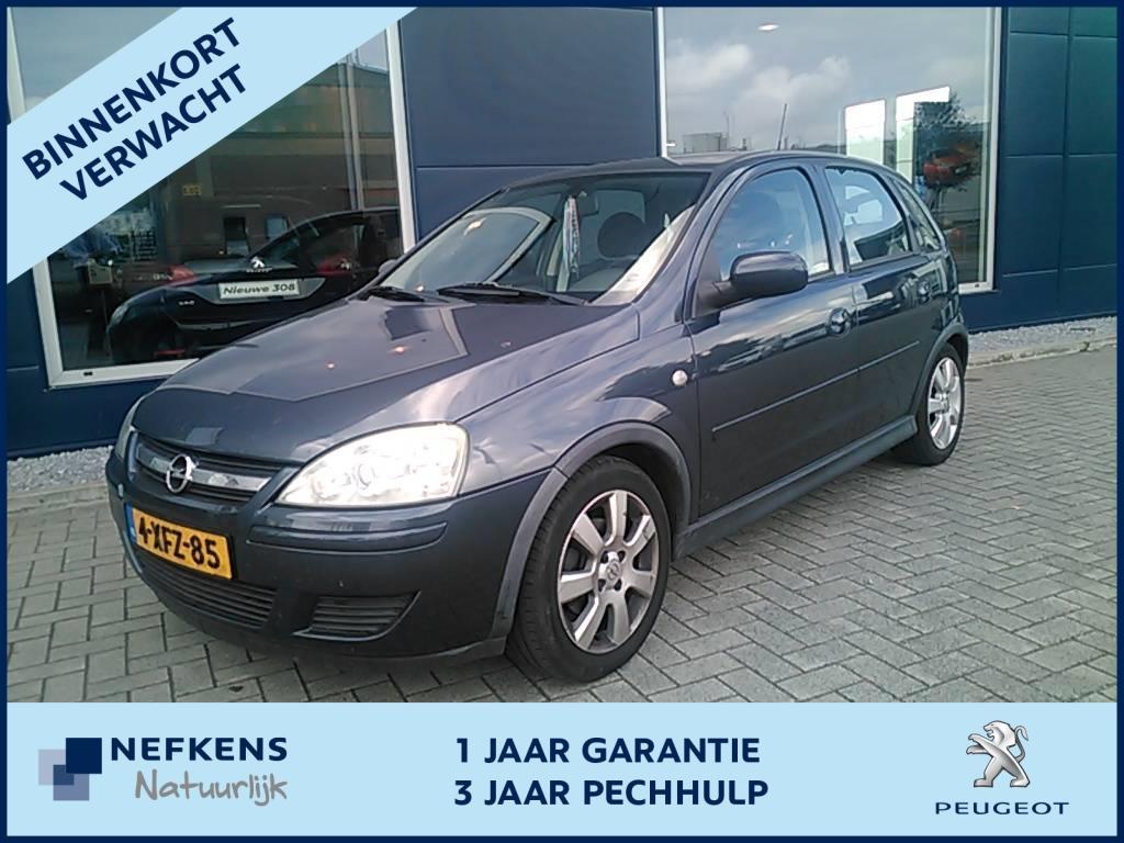 Opel Corsa 1.4 16v 5-drs silverline * airco * lmv * verwacht *