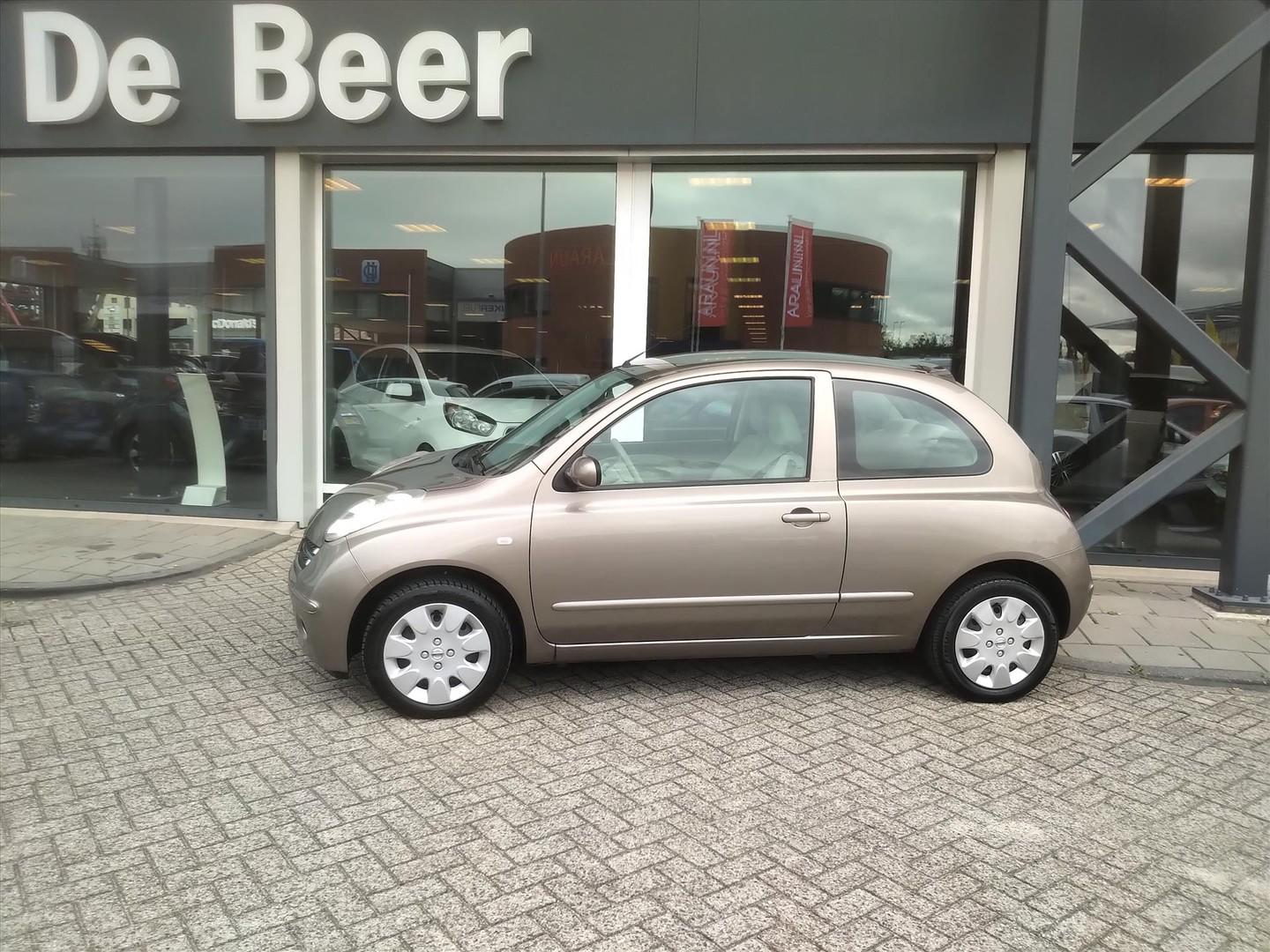 Nissan Micra 1.2 59kw 3dr elegance climate control