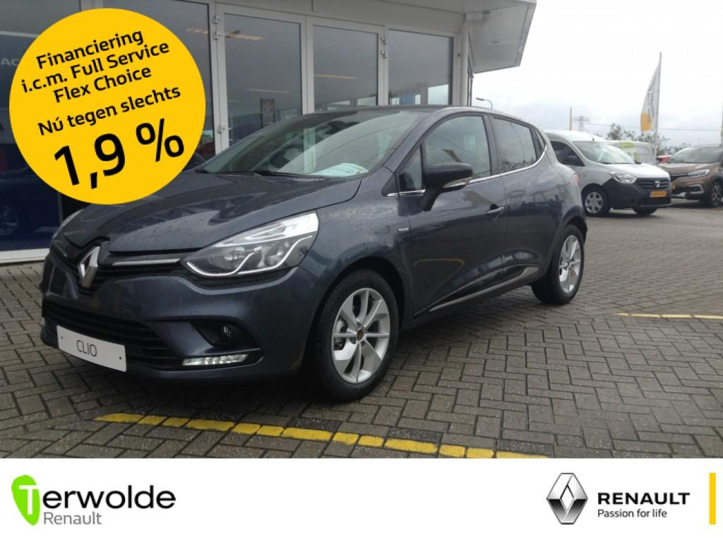 Renault Clio 90pk. tce ecoleader limited