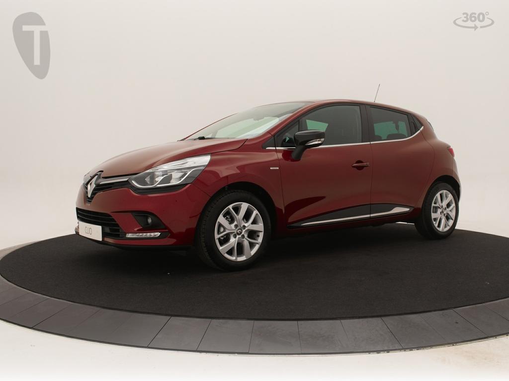 Renault Clio 90 pk limited nieuw en uit voorraad leverbaar nu € 2.300,- voorraad korting!! private lease v.a € 299,-