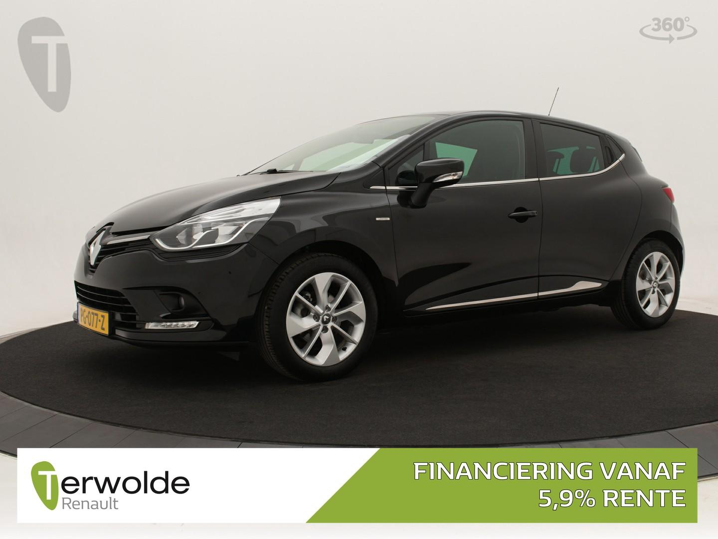 Renault Clio Tce 90 pk limited