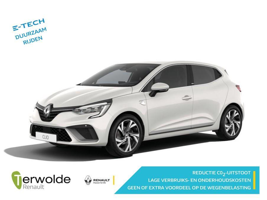 Renault Clio 1.6 hybrid r.s. line binnenkort op voorraad, nu te bestellen! €2490,- korting