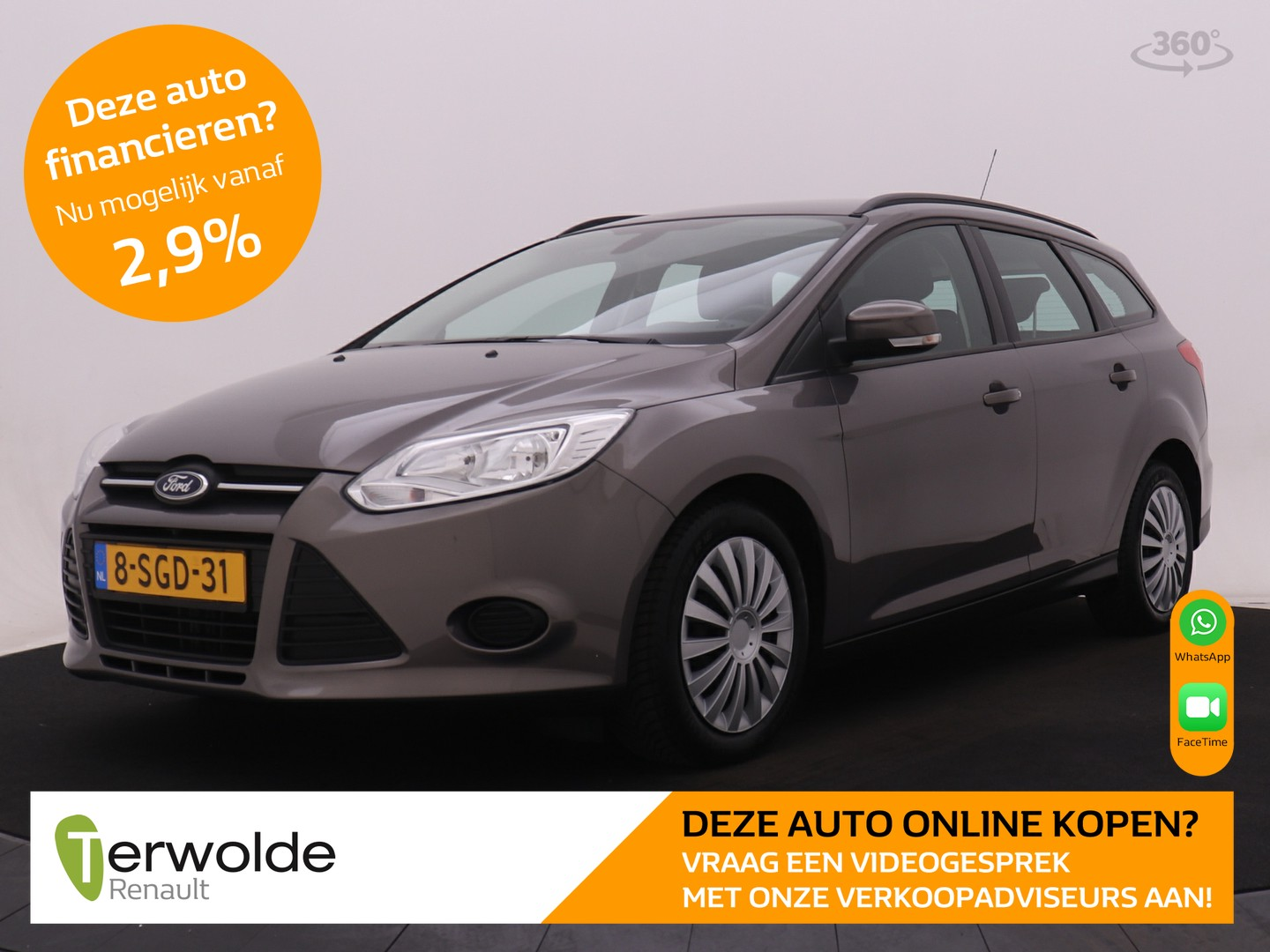 Ford Focus Wagon 1.6 tdci 105 pk econetic lease trend