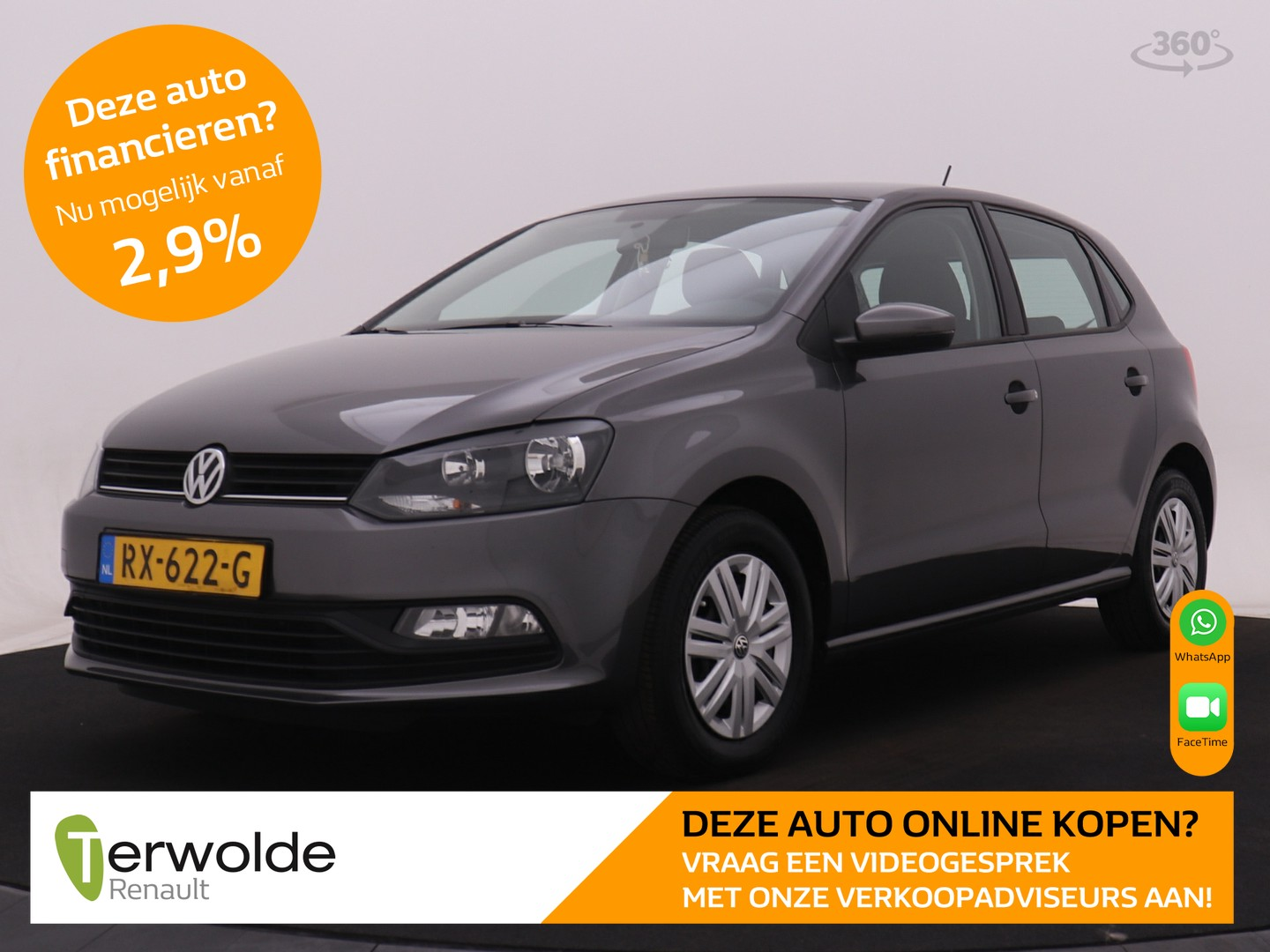 Volkswagen Polo 1.0 75 pk first edition