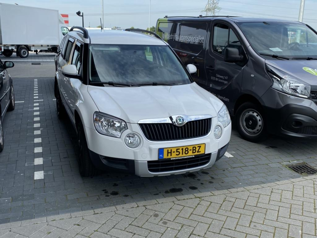 Škoda Yeti 1.2 tsi 105 pk comfort arctic