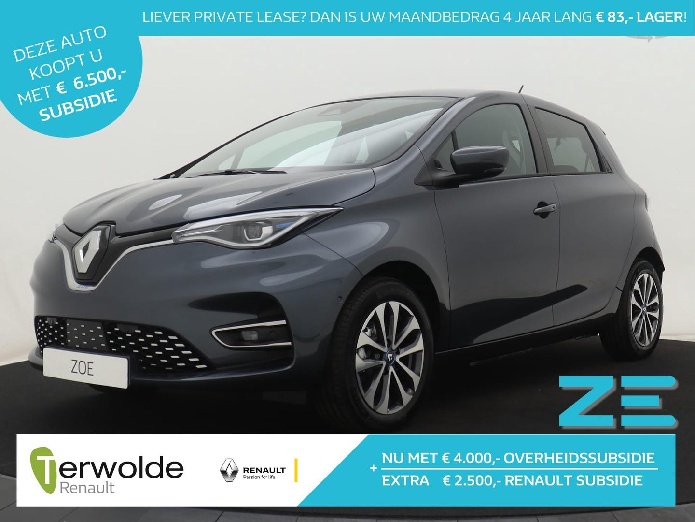 Renault Zoe R135 intens 50 batterij huur!! nu €2.500,- voorraad korting* van € 29.355 voor €26.855,-