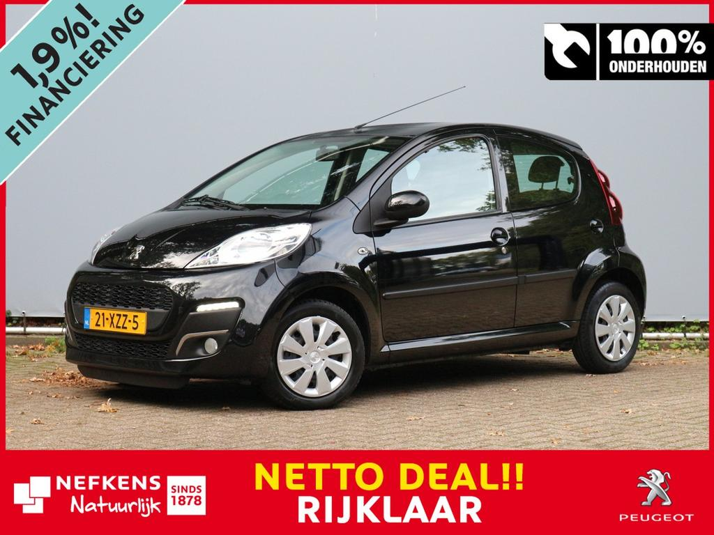 Peugeot 107 1.0 68pk envy netto deal & rijklaar