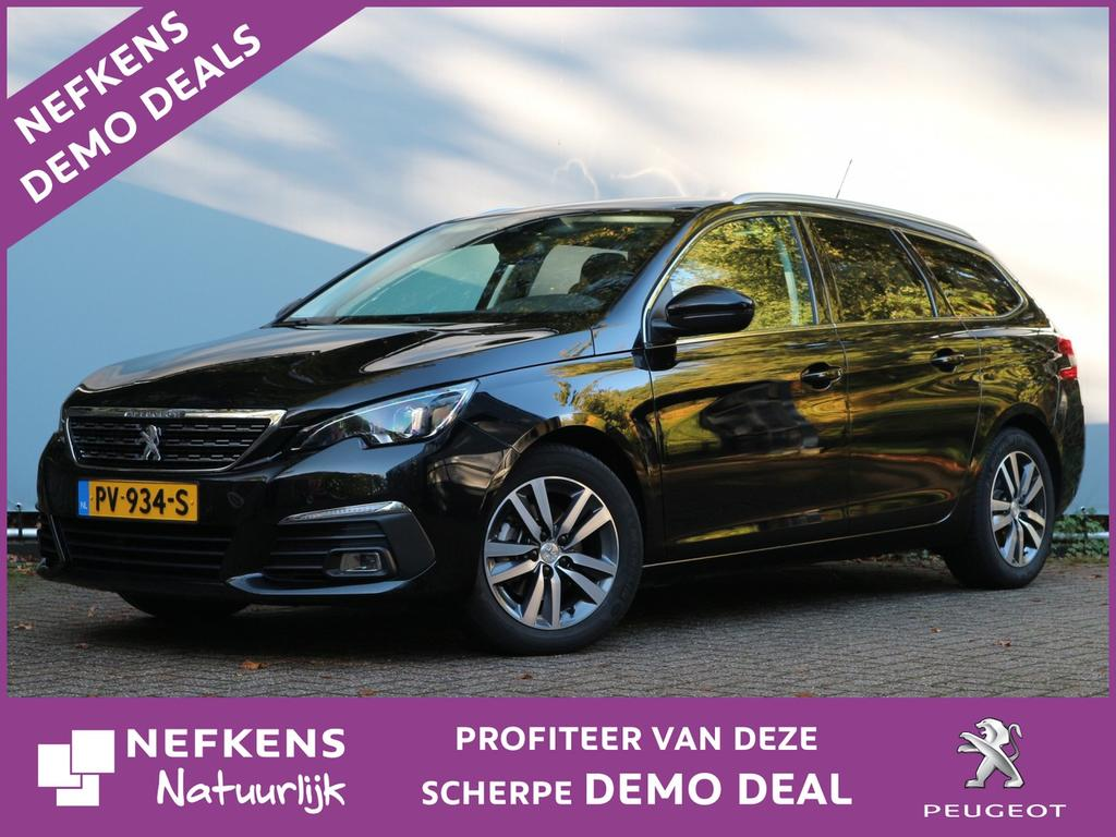 Peugeot 308 Sw 1.6 hdi 120 pk automaat blue lease premium netto deal