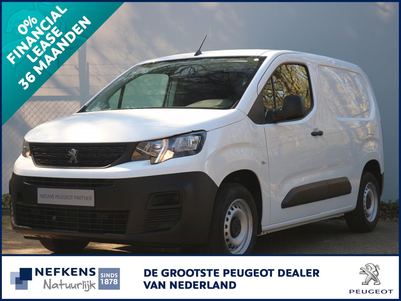 Peugeot Partner 1.5 bluehdi 100 pk pro direct leverbaar
