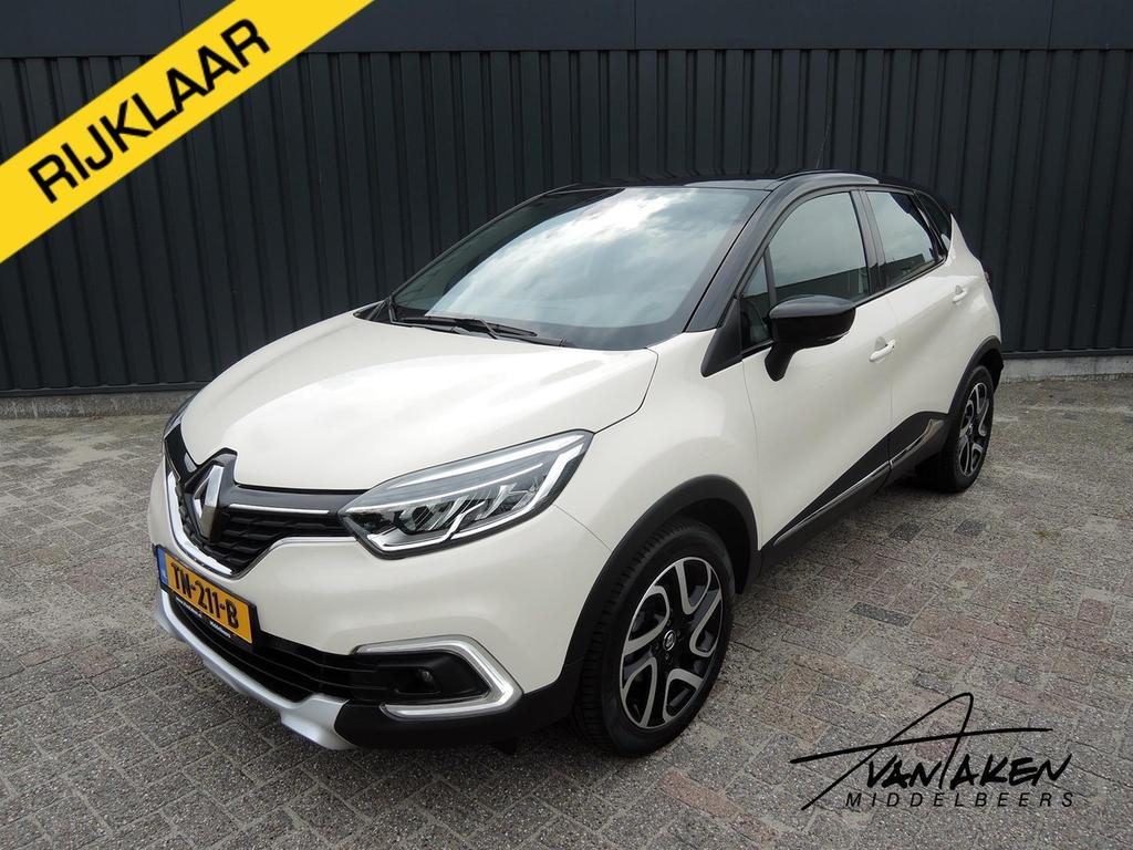 Renault Captur Tce 120 edc intens nieuw model!