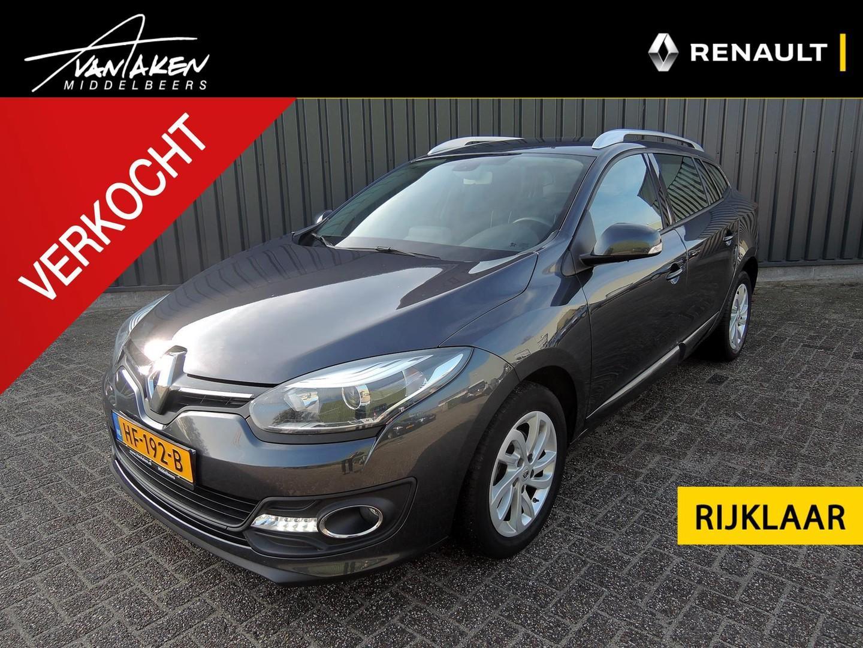 Renault Mégane Estate 1.5 dci limited navigatie, rijklaar