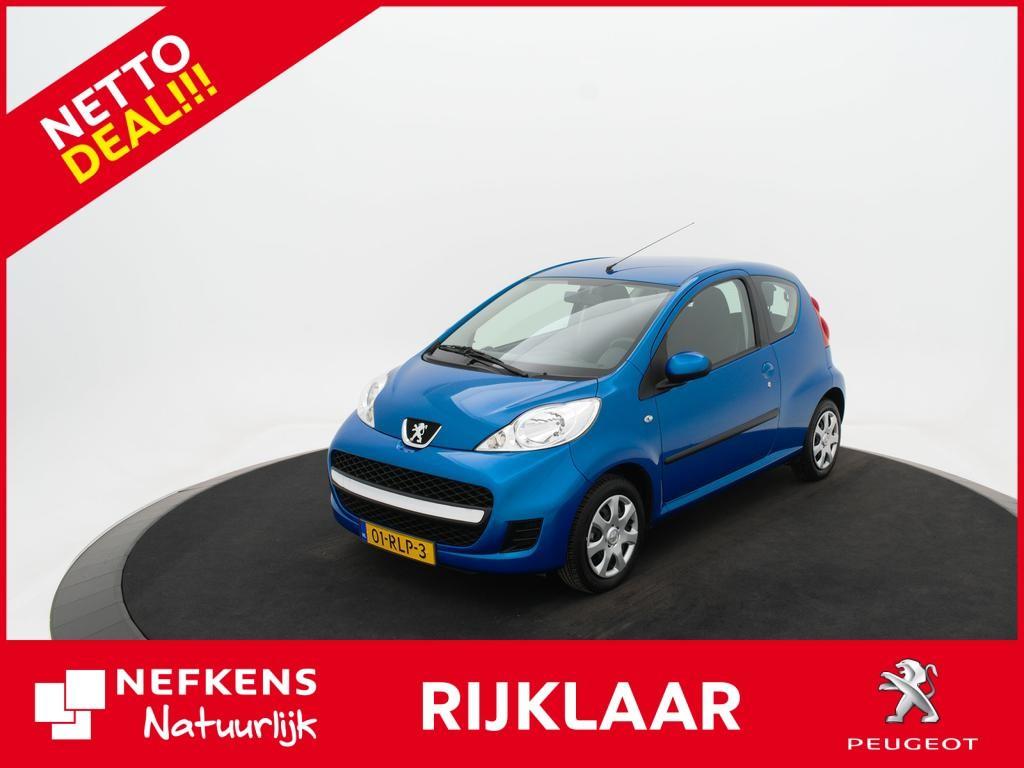 Peugeot 107 1.0-12v xs 18.000km!! * elek. ramen * rijklaarprijs * netto deal
