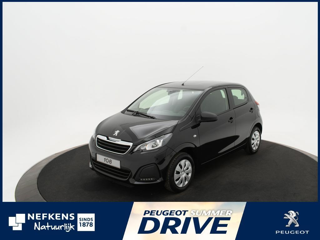 Peugeot 108 1.0 e-vti access *radio/cd*5deurs*zeer scherpe private lease tarieven* *voorraadvoordeel bij nefkens*