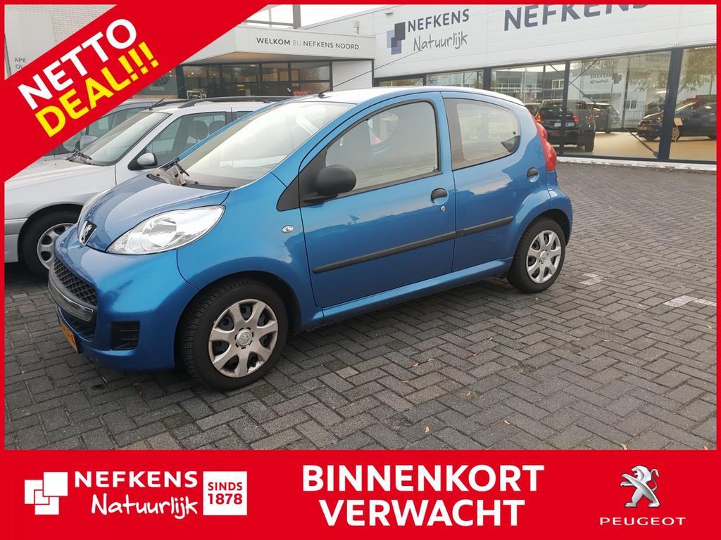 Peugeot 107 1.0-12v xr * 5 deurs * airco * nettodeal * rijklaarprijs
