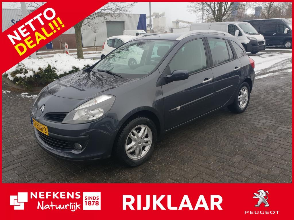 Renault Clio Estate 1.2 tce corporate sport * clima contrl * all season * trekhaak ! *