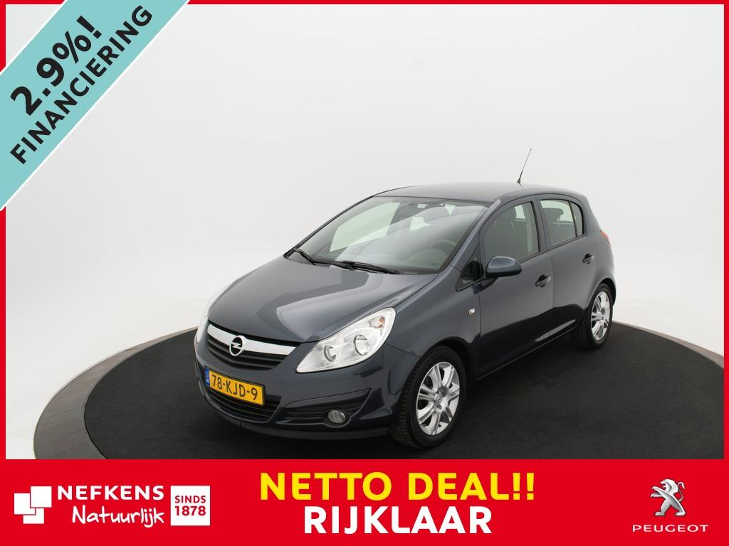 Opel Corsa 1.4-16v edition *airco*lichtmetalen velgen* *netto deal* rijklaarprijs !!!*