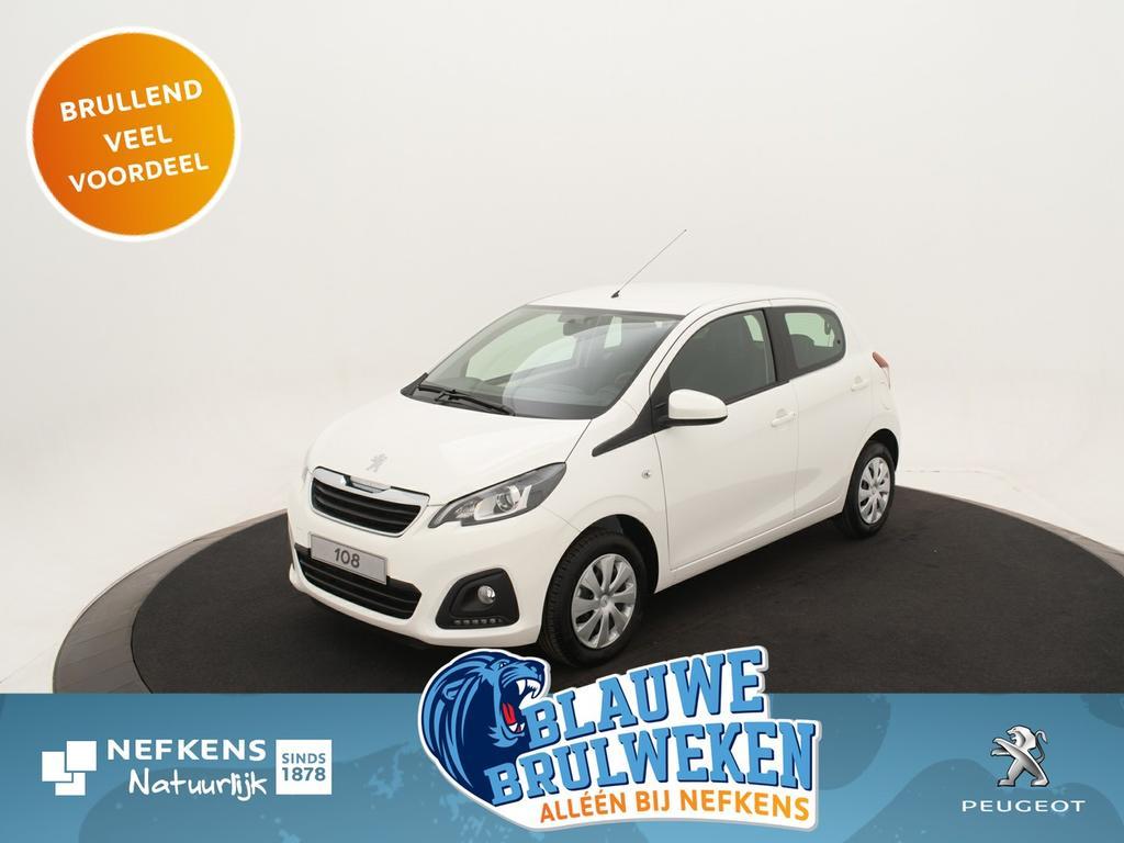 Peugeot 108 1.0 e-vti active 5drs. *airco*bluetooth*usb* *voorraadvoordeel bij nefkens*