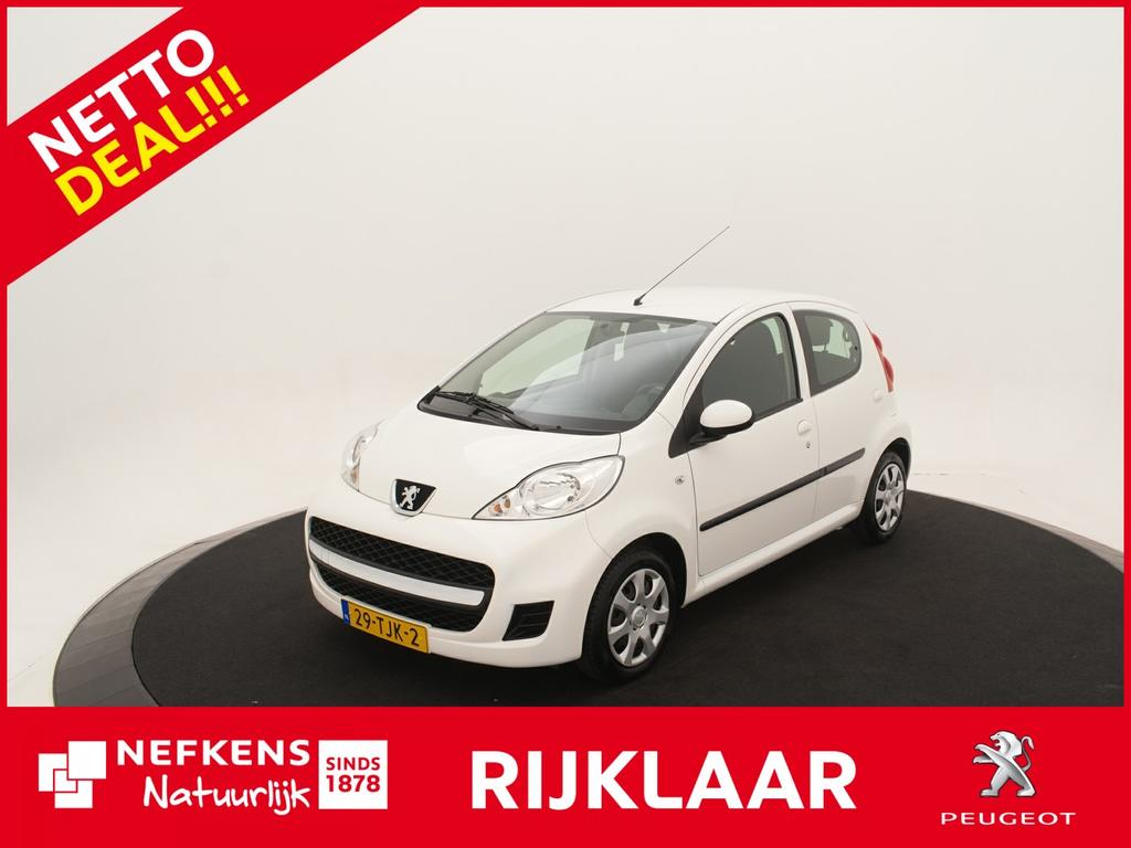 Peugeot 107 1.0-12v xs *airco*radio/cd speler*centrale deurvergrendeling* *nettodeal!*rijklaarprijs!*