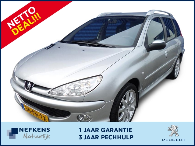 Peugeot 206 Sw quiksilver 1.6-16v*netto deal*