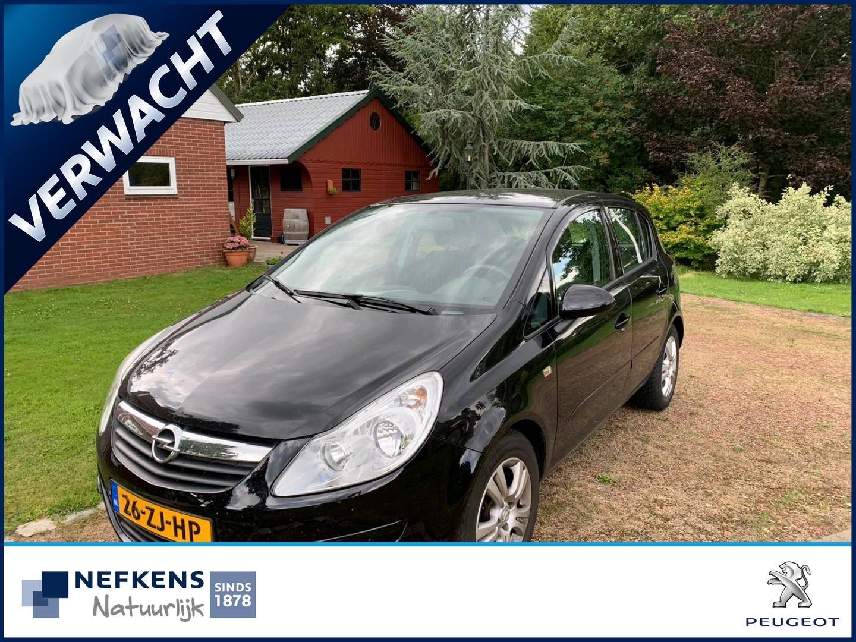 Opel Corsa 1.2-16v enjoy *lage km stand!!*5 deurs*lm velgen*