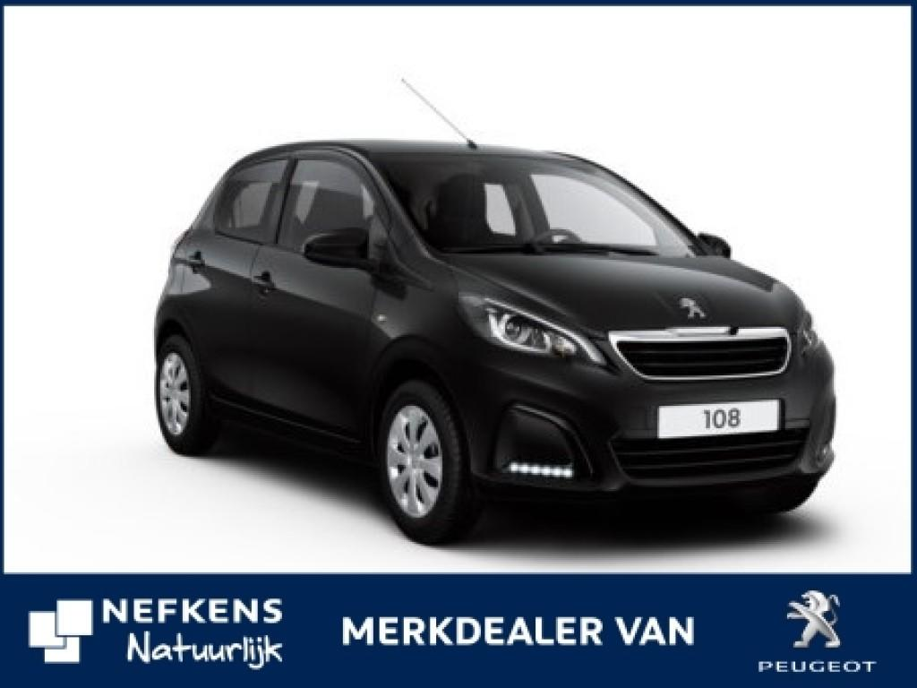 Peugeot 108 Active 1.0 e-vti 5dr + bluetooth radio
