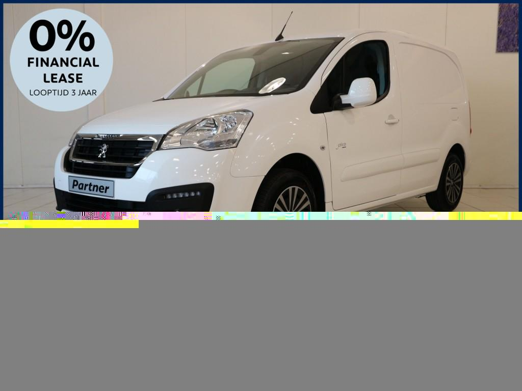 Peugeot Partner 120 1.6 75 pk l1 premium pack financial lease 0,0% 36 maanden