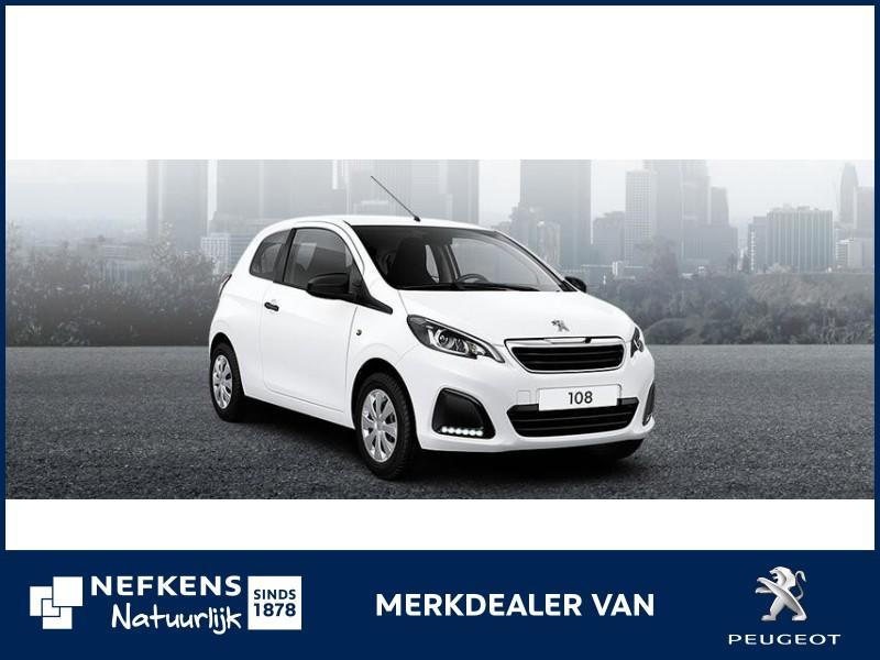 Peugeot 108 3 deurs 1.0 72 pk access actie private lease