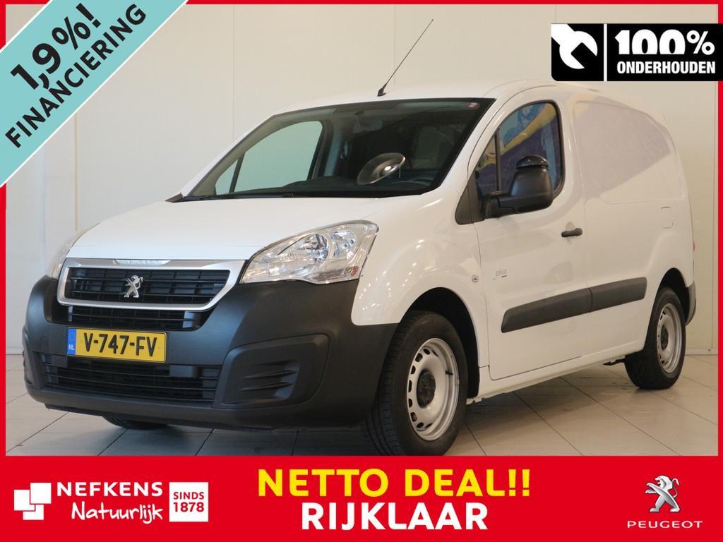Peugeot Partner 120 1.6 hdi 75 pk l1 xr netto deal & rijklaar